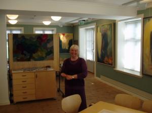 Fra utstillingen i Frida Hansens hus i Stavanger 2005